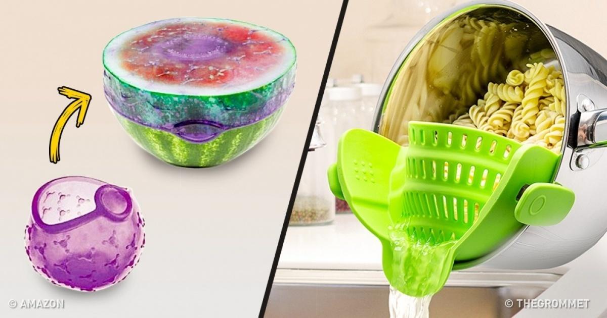 21 objets ultra pratiques et ludiques avoir dans sa cuisine. Black Bedroom Furniture Sets. Home Design Ideas