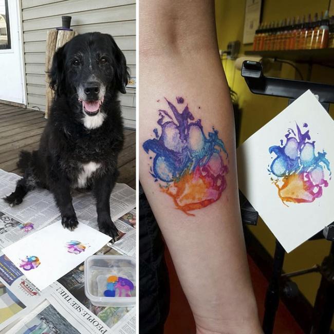 8 Tatouages A La Symbolique Tres Forte Et Emouvants