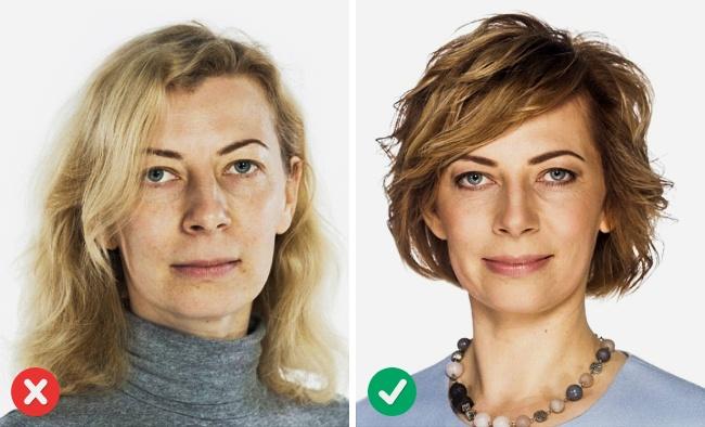 Coupe cheveux court femme pour visage long