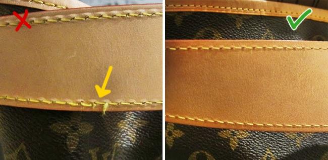 suggerimenti borsa riconoscere contraffazione 7 una per una autentica da 4d1xSq